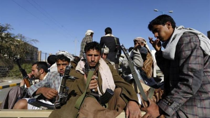 Houthi rebels took control of the capital in September [Reuters]