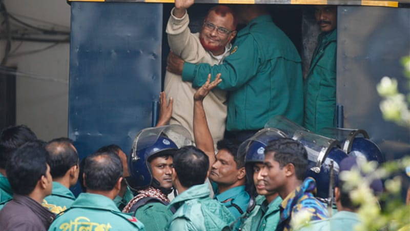 Azharul Islam was found guilty for the killing of more than 1,200 people in Rangpur [Mahmud Hossain Opu/Al Jazeera]
