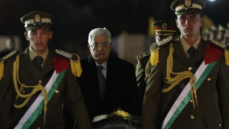 President Abbas signed the request following the failure of a UN Security Council resolution [Reuters]