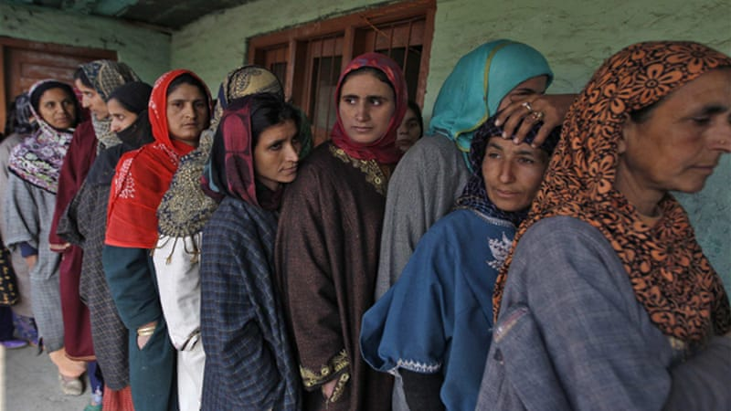 The state of Jammu and Kashmir is holding local polls with final results due on December 23 [Reuters]