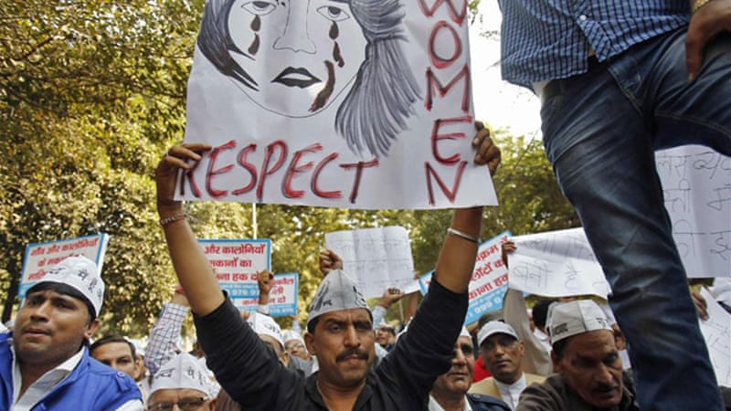 Indians have repeatedly held protests demanding an end to widespread rapes in the country[Reuters]