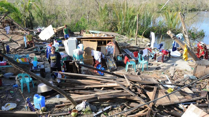 More than one million people were moved from Hagupit's path [AFP]
