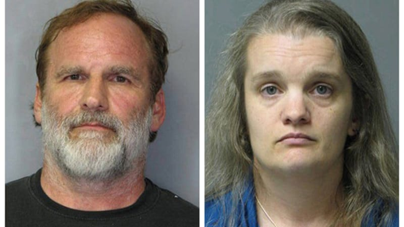 Dr Melvin Morse, left, denied waterboarding the daughter of his now-estranged wife Pauline Morse, right [Reuters]