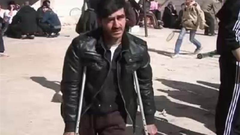 Some residents were evacuated from of Homs in a February ceasefire [Al Jazeera]