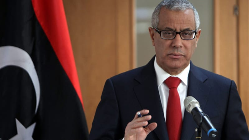 Libyan Prime Minister Ali Zeidan has said the government remains safe and security is under control [EPA]