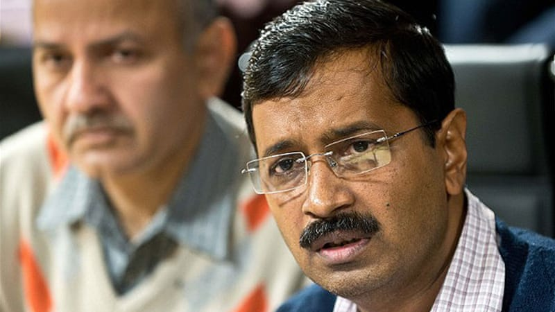 Kejriwal quit only 49 days after his party came to power in the capital in the state election in December [AFP]