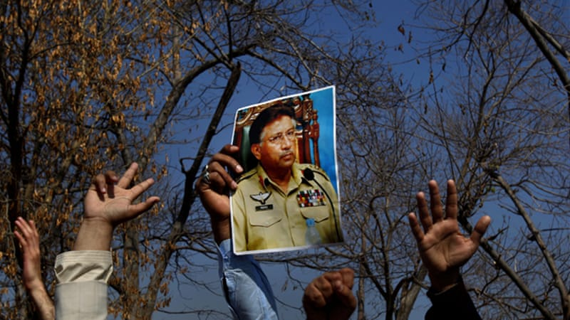 Musharraf took power in a 1999 coup and ruled Pakistan for nearly a decade before stepping down in 2008 [AP]