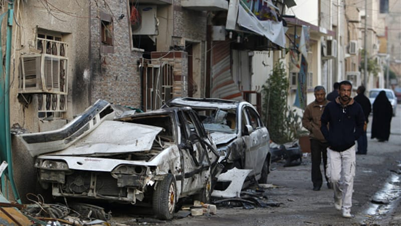 The attack in Karrada killed at least eight people and injured 25 others [Reuters]