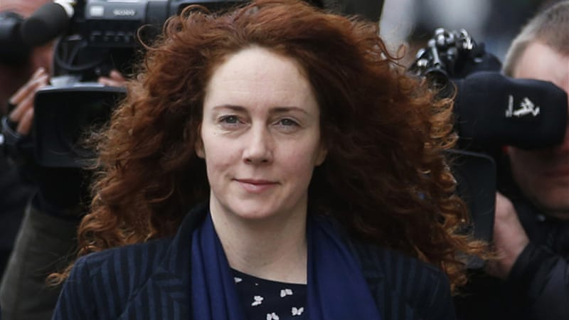 Rebekah Brooks sent the email to top News Corp bosses, the jury heard [Reuters]