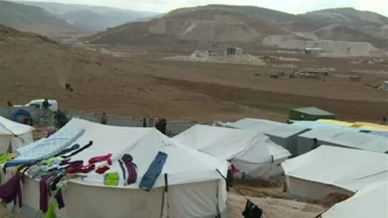 The number of Syrians registered as refugees in Lebanon has surpassed one million [Al Jazeera]