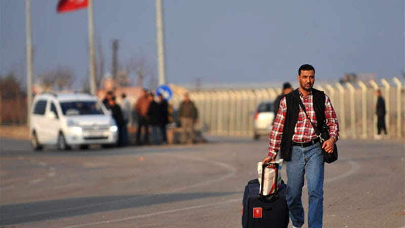 Turkey hosts more than 600,000 Syrian refugees and has kept its border open throughout the conflict [AFP]