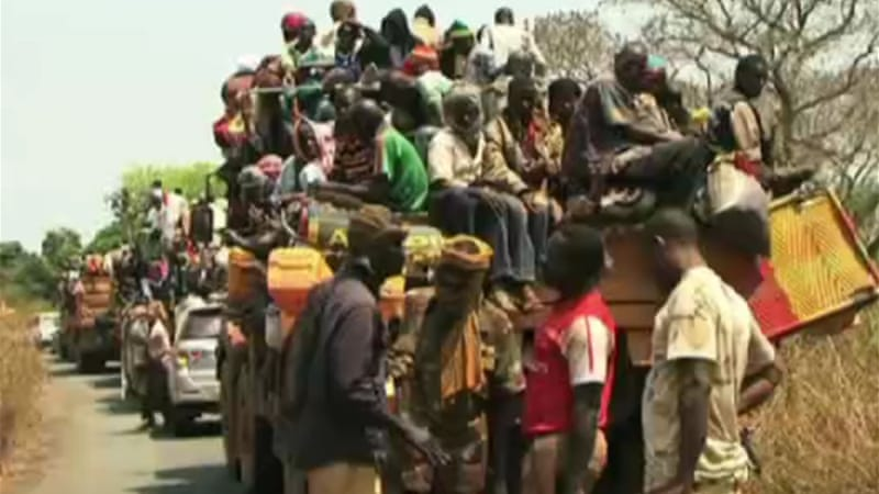 Thousands of Muslims have fled to a northern enclave to escape the anti-Balaka violence [Al Jazeera]