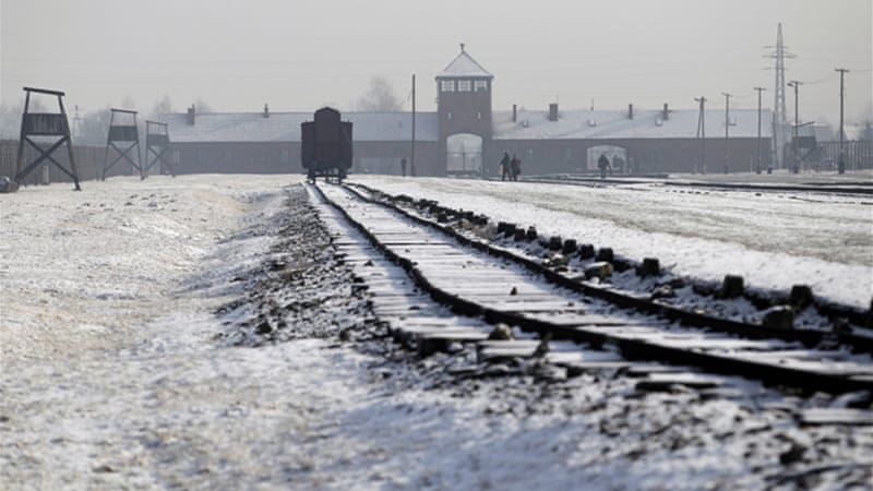 Some 1.5 million people died in the Auschwitz extermination camp [Reuters]
