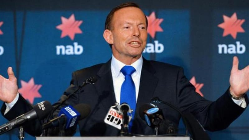 "Prime Minister Tony Abbott has said he will not bow to ""moral blackmail"" [AFP]"