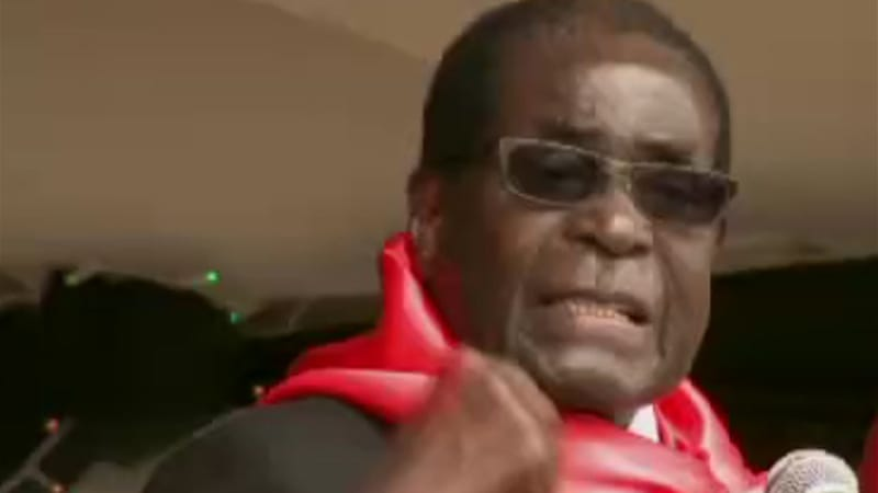 Mugabe won disputed elections last year and a petition from his main challenger was withdrawn [Al Jazeera]