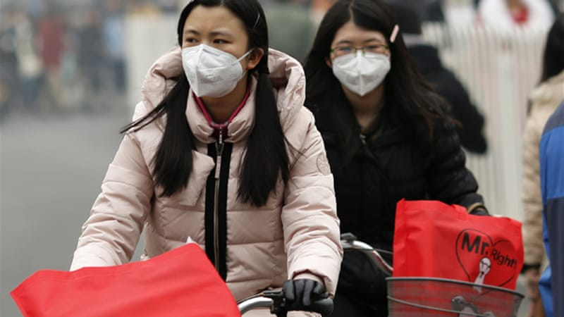WHO said there were about 3.7 million deaths from outdoor air pollution in 2012 [Reuters]