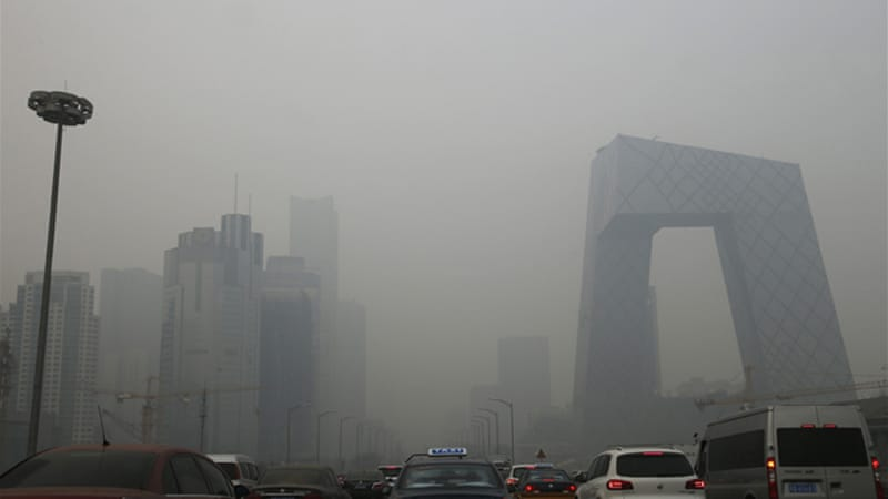 China's capital Beijing has been engulfed in heavy smog [Reuters]