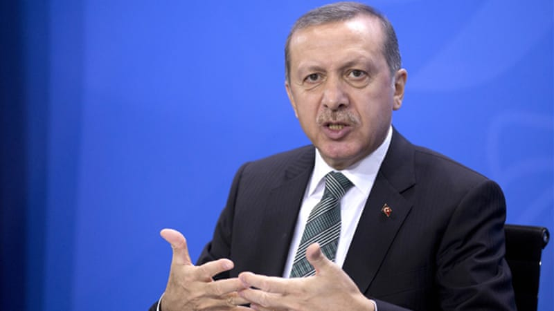 Erdogan took over a country in 2002 mired in political factionalism and economic crisis [AP]