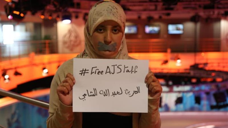 Egyptian journalist Abdullah Elshamy has been detained for more than six months [Al Jazeera]