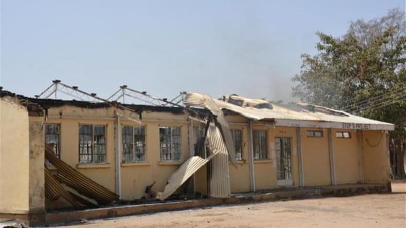 The group which opposes Western education is suspected to have burnt more than two hundred schools [AP]