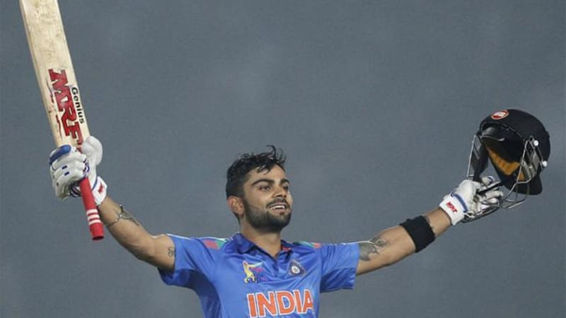 Kohli's average is 45-plus in all three forms of international cricket [Reuters]