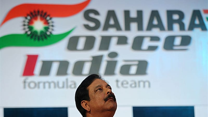 Sahara became a household name after it sponsored the Indian cricket team [EPA]