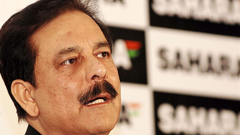 Subrata Roy had an arrest warrant issued against him after he failed to appear in court [EPA]
