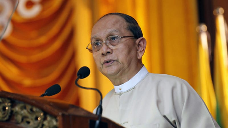 President Thein Sein submitted the proposal after receiving a petition from Buddhists leaders last year [EPA]