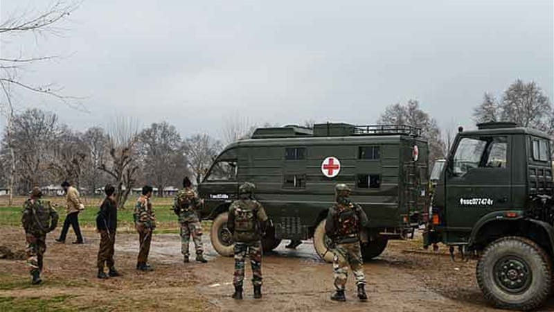 Thursday's incident in Kashmir's Ganderbal district is the latest in a long line of troop attacks on colleagues [AFP]