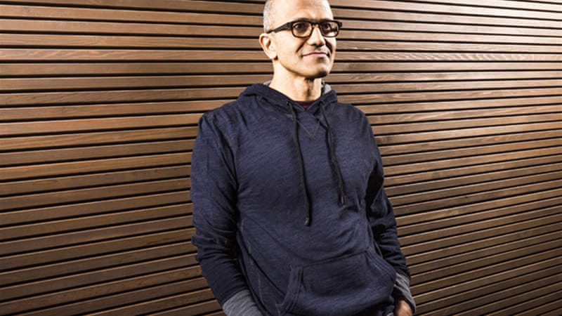 Nadella said the changes were needed for the US company to 'become more agile and move faster' [Reuters]