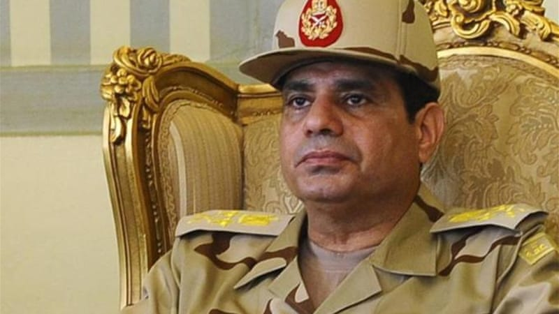 The Egyptian army chief ended months of speculation about his future [File photo: Reuters]