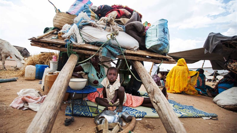 Thousands have been displaced following recent destruction of villages in South Darfur[AP/UNAMID]