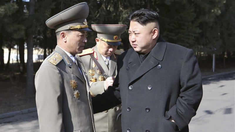 North Korea fired two medium-range Rodong ballistic missiles into the sea on Tuesday [Reuters]