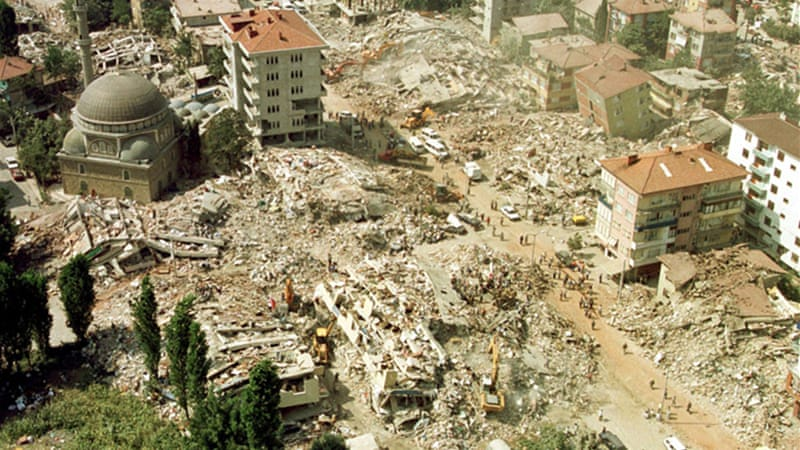 A 7.6-magnitude earthquake northwest of Istanbul killed more than 17,000 people in 1999 [AP]