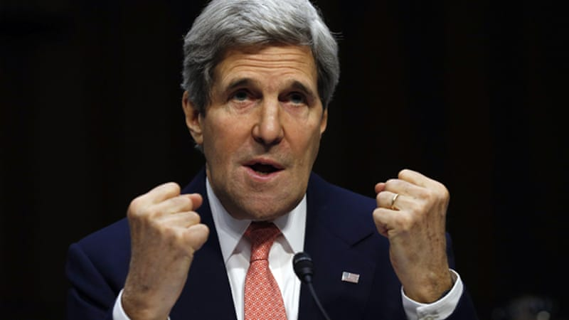 Kerry planned further talks with Abbas and with Israeli PM Netanyahu in the coming days [Reuters]