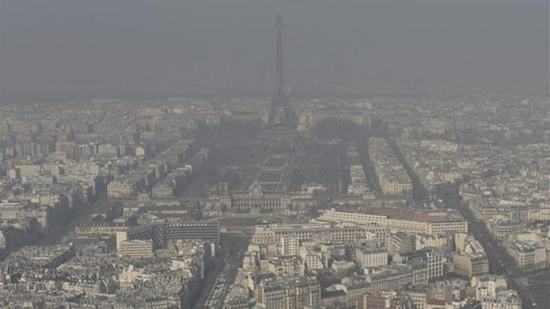 Paris is more prone to smog than other European capitals because of France's diesel subsidies [Reuters]