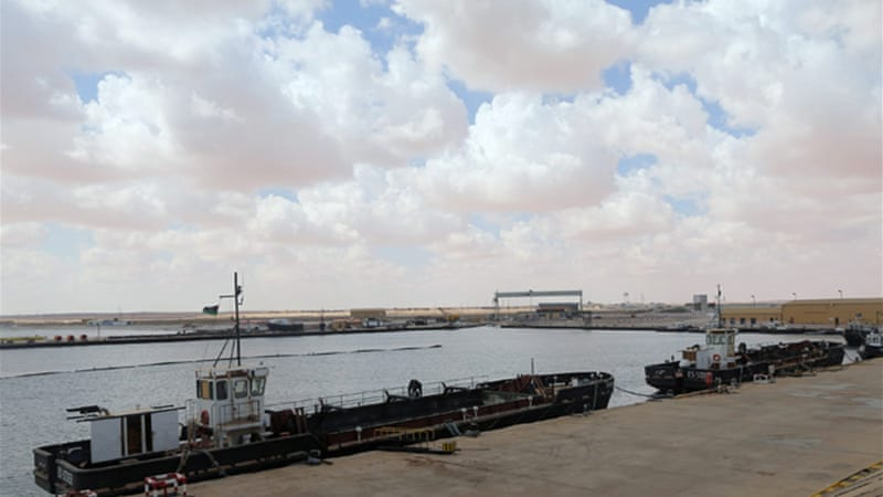 Libyan rebels managed to load crude oil onto the tanker after seizing al-Sidra port [Reuters]