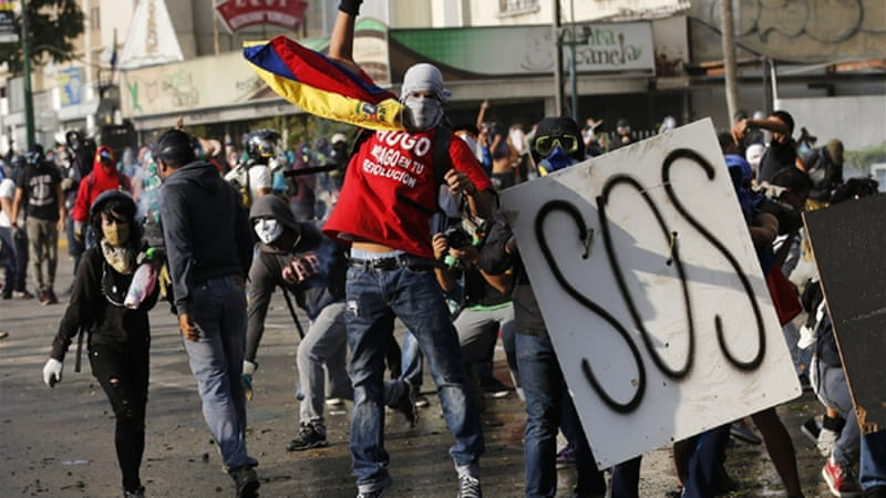 Anti-government protests against President Maduro have been raging for more than six weeks [Reuters]