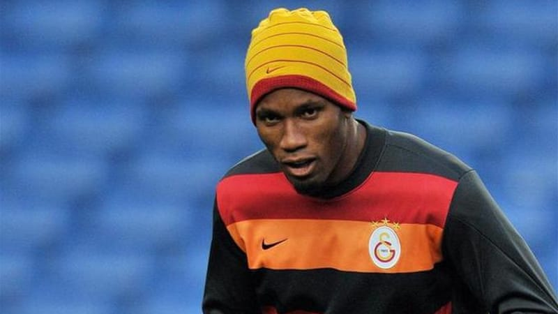 Drogba has his eyes on a place in the Champions League quarter-finals despite the emotion of his return [AFP]