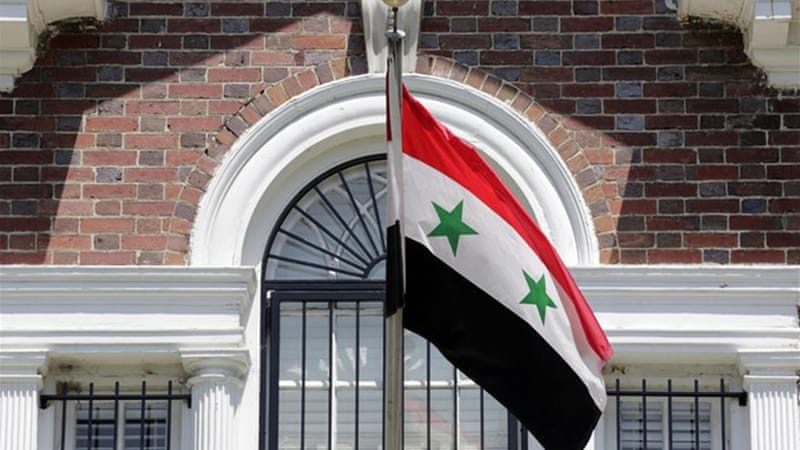 The US asked Syrian regime to immediately suspend all diplomatic missions [Reuters]