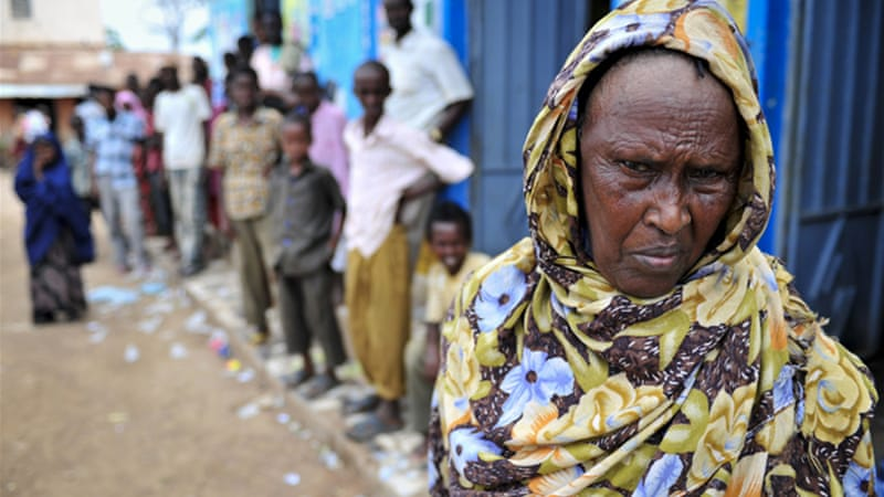 The UN has warned that Somalia is facing a severe hunger crisis amid the continuing conflict [Reuters]
