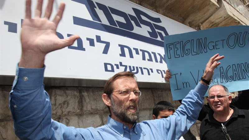 Knesset member Moshe Feiglin called for Israel to take control of the compound in East Jerusalem [EPA]