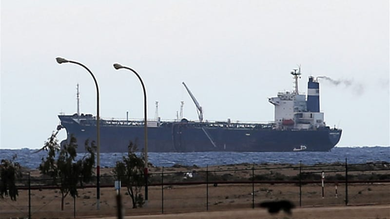 The Morning Glory tanker was due to arrive later on Saturday at Libya's Zawiya port [Reuters]