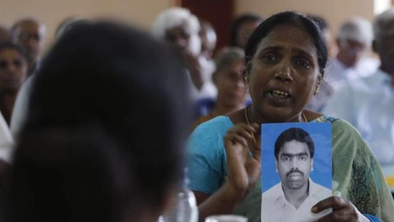 Sri Lanka's civil war ended in 2009, but there is still little information on thousands of people who disappeared [AP]