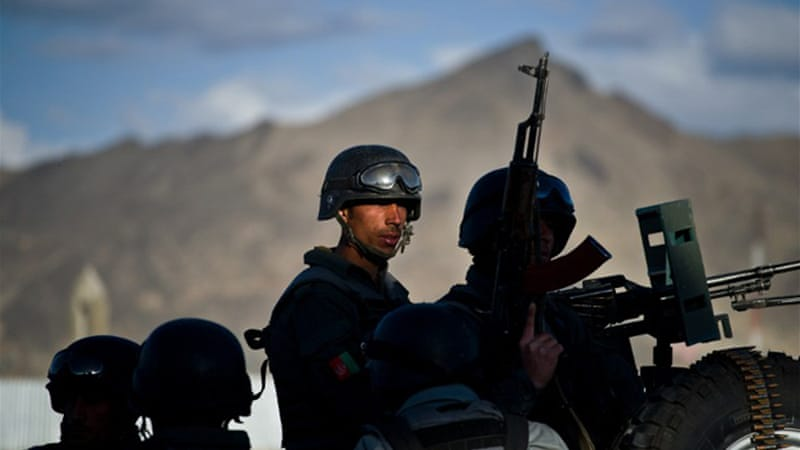 Fourty-seven percent of respondents said they were confident that Afghan forces could provide security [AFP]