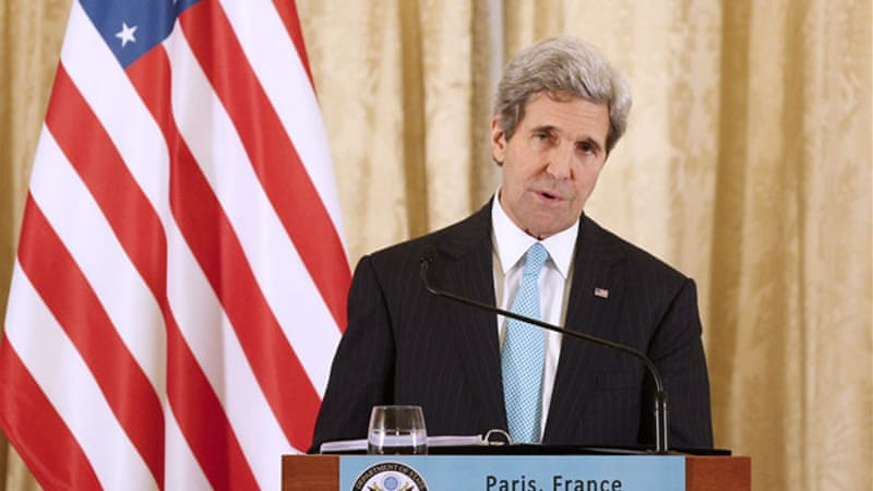 Under pressure from Kerry, Israel and the Palestinians agreed to hold nine months of peace talks [EPA]