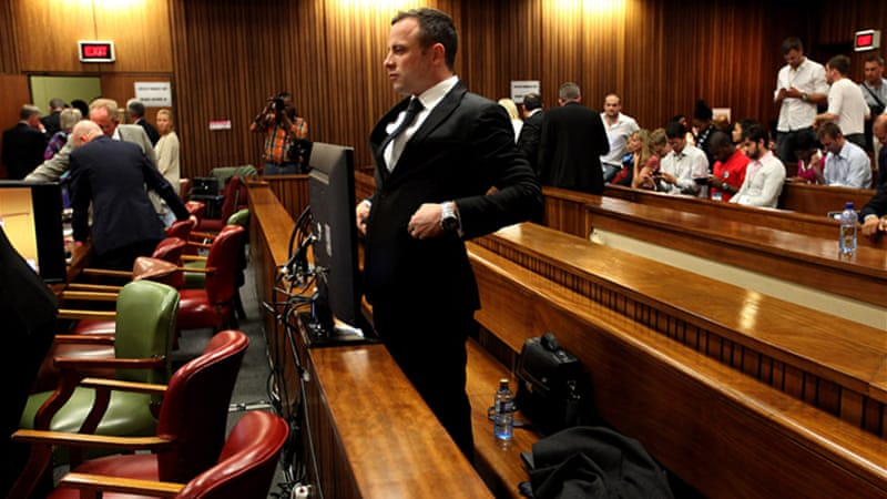 Oscar Pistorius has been charged with murder in the fatal shooting of his girlfriend Reeva Steenkamp [AP]
