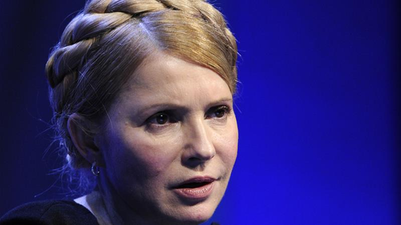 Yulia Tymoshenko: 'Kremlin has declared war'
