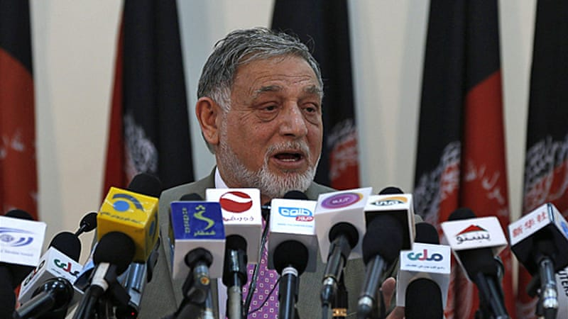 Abdullah is ahead of Ghani but to secure a win the candidate must secure 50 percent of the vote [Reuters]