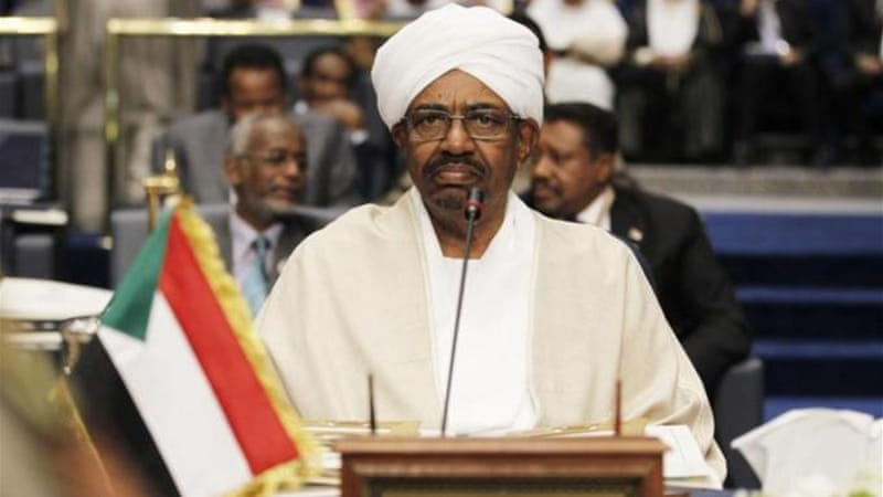 Sudan's President Bashir is wanted over charges of war crimes and crimes against humanity [Reuters]